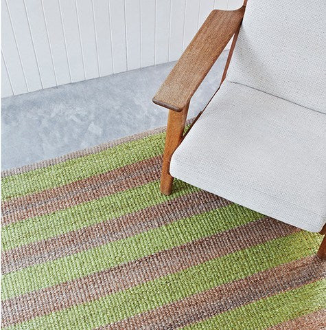 ARMADILLO NEST WEAVE - AWNING STRIPE RUG - Eclectic Cool  - 12