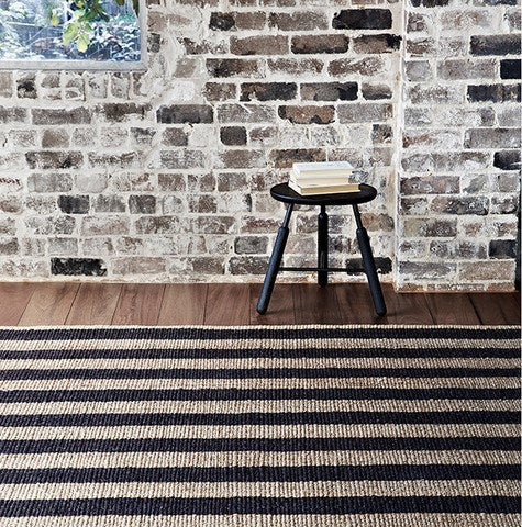 ARMADILLO NEST WEAVE - AWNING STRIPE RUG - Eclectic Cool  - 3