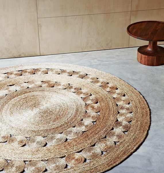 Armadillo Round Dandelion Rug 1.55m - Eclectic Cool  - 6