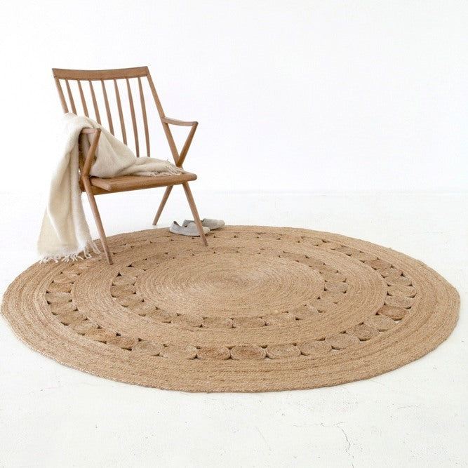 Armadillo Round Dandelion Rug 1.55m - Eclectic Cool  - 2