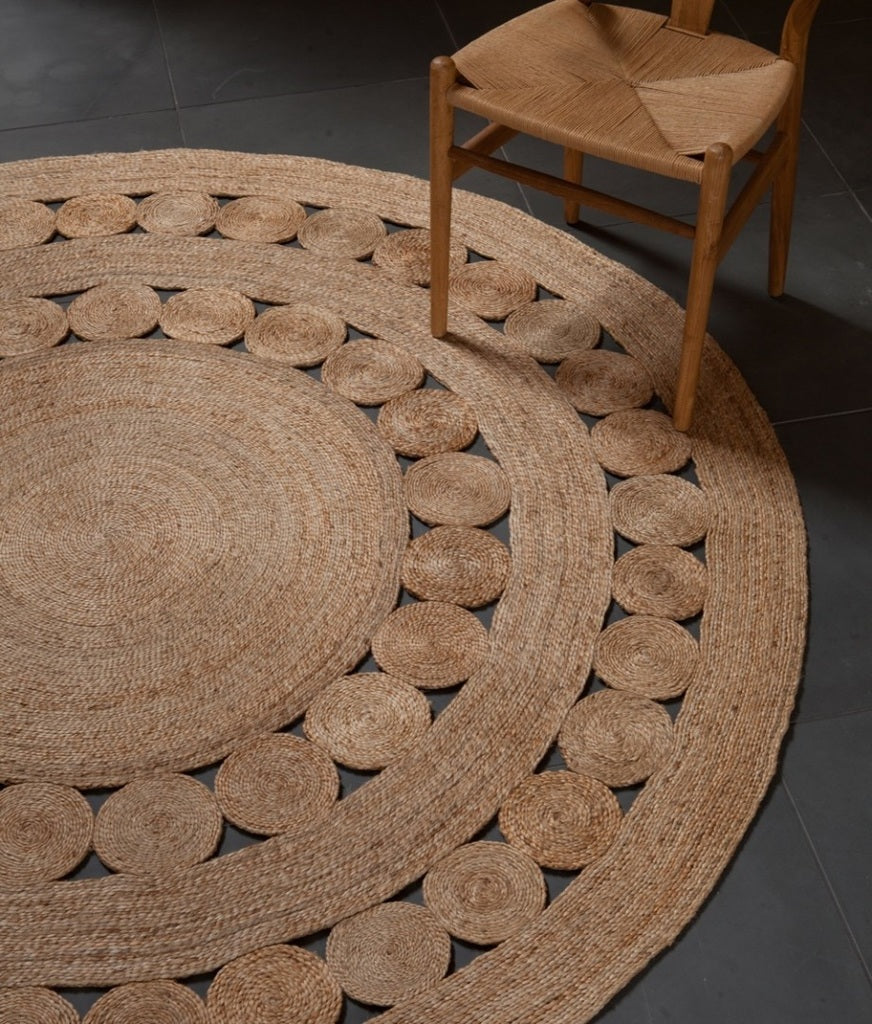 Armadillo Round Dandelion Rug 1.55m - Eclectic Cool  - 3