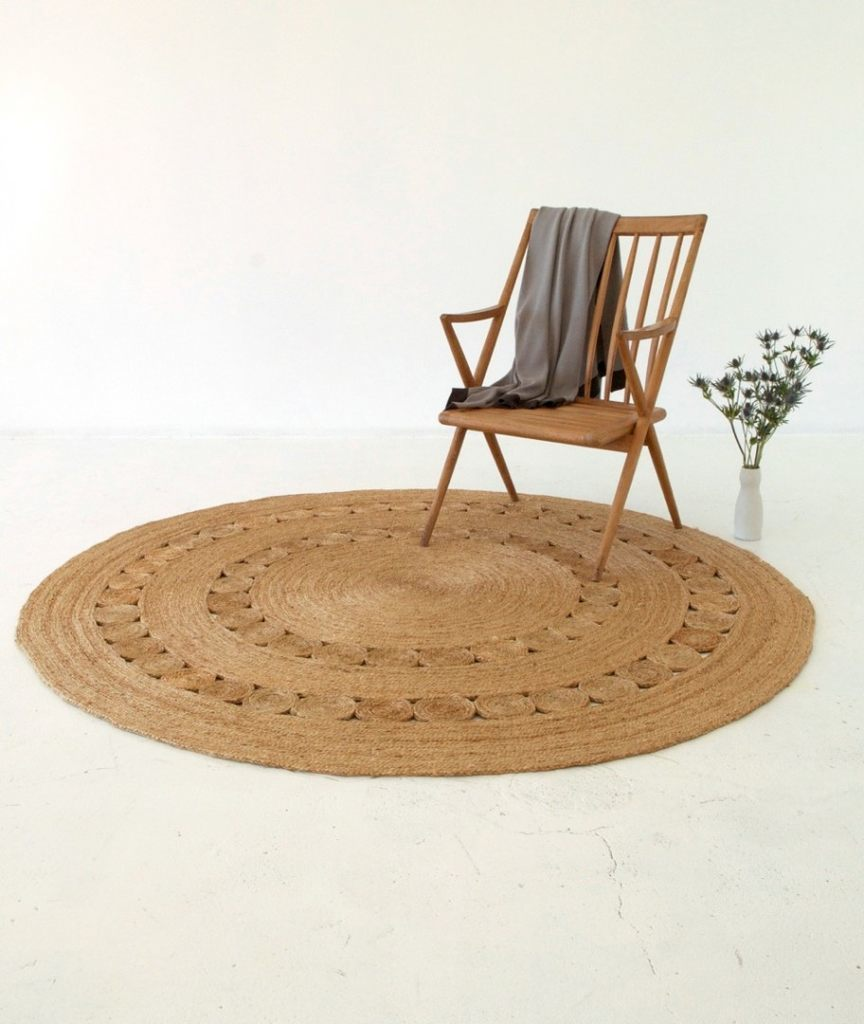 Armadillo Round Dandelion Rug 1.55m - Eclectic Cool  - 5