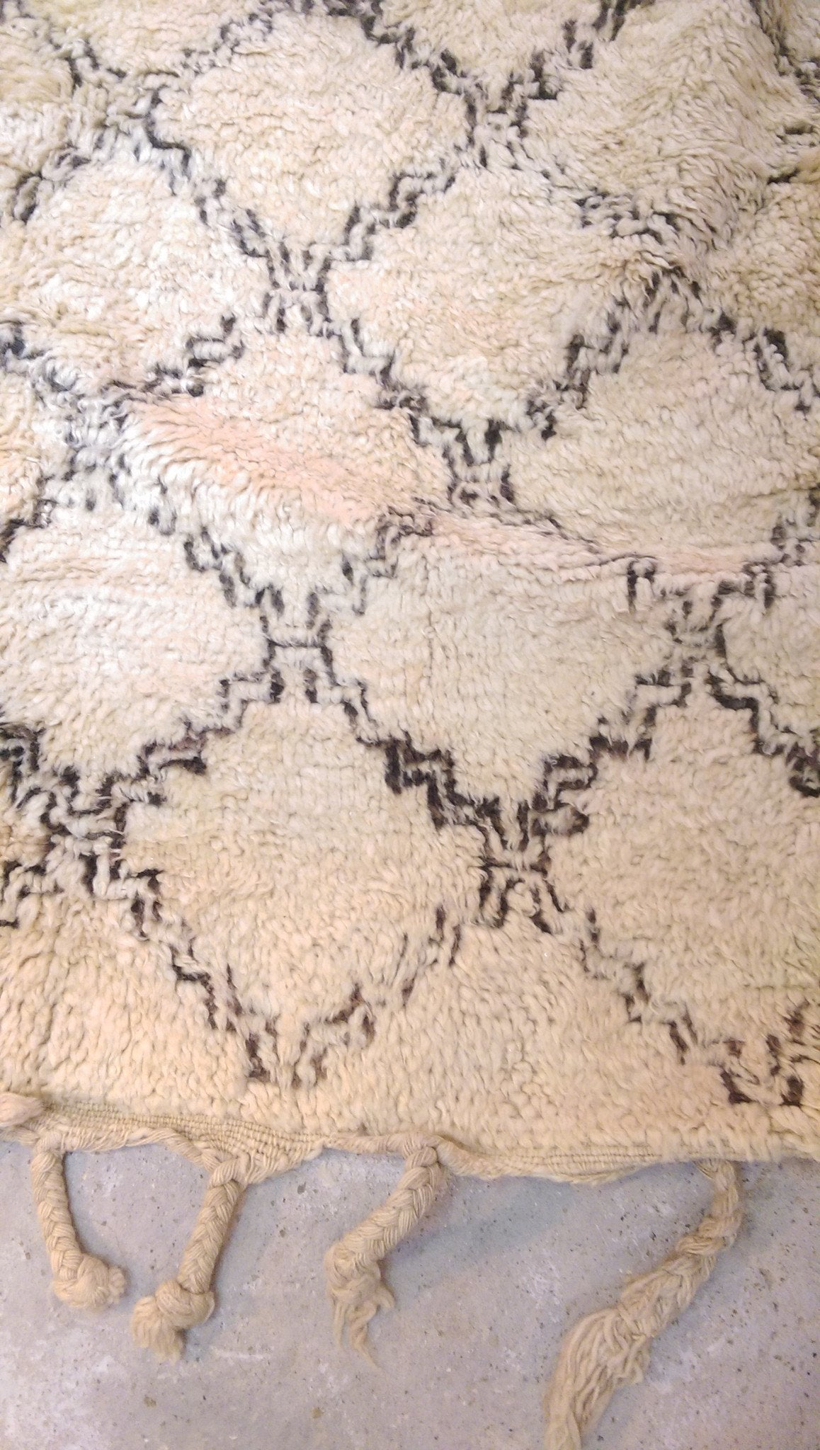 BENI OURAIN RUG 185 X 260 - Eclectic Cool  - 2