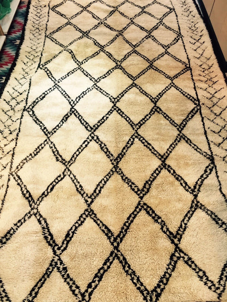 BENI OURAIN VINTAGE RUG 185 x 396 - Eclectic Cool  - 1