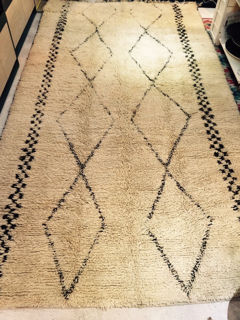 BENI OURAIN VINTAGE RUG 188 x 345 - Eclectic Cool  - 1
