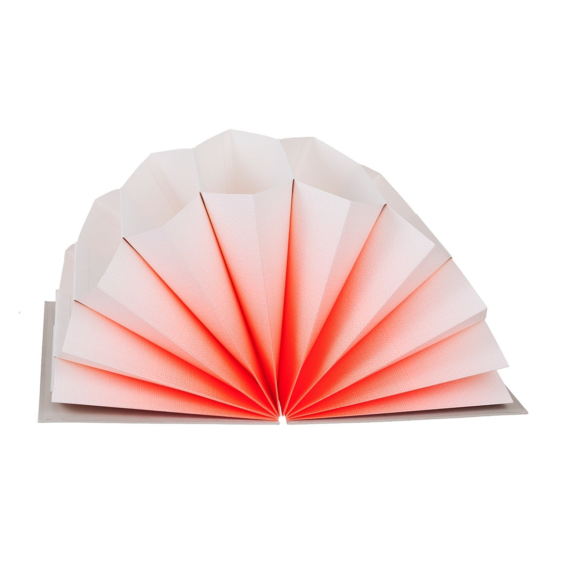 HAY Plisse FOLDER/ A4 / coral fade - Eclectic Cool  - 1
