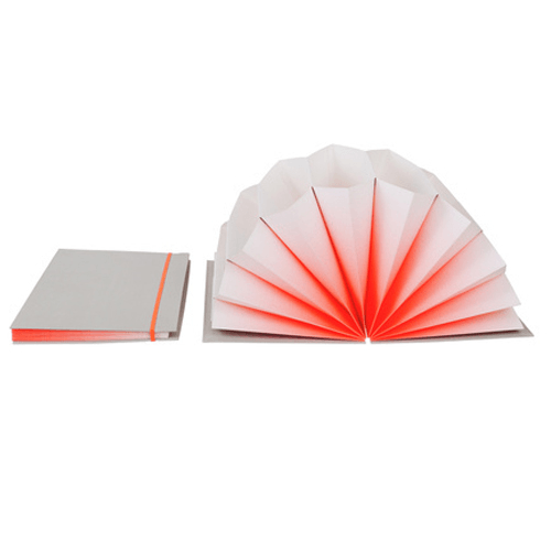 HAY Plisse FOLDER/ A4 / coral fade - Eclectic Cool  - 2