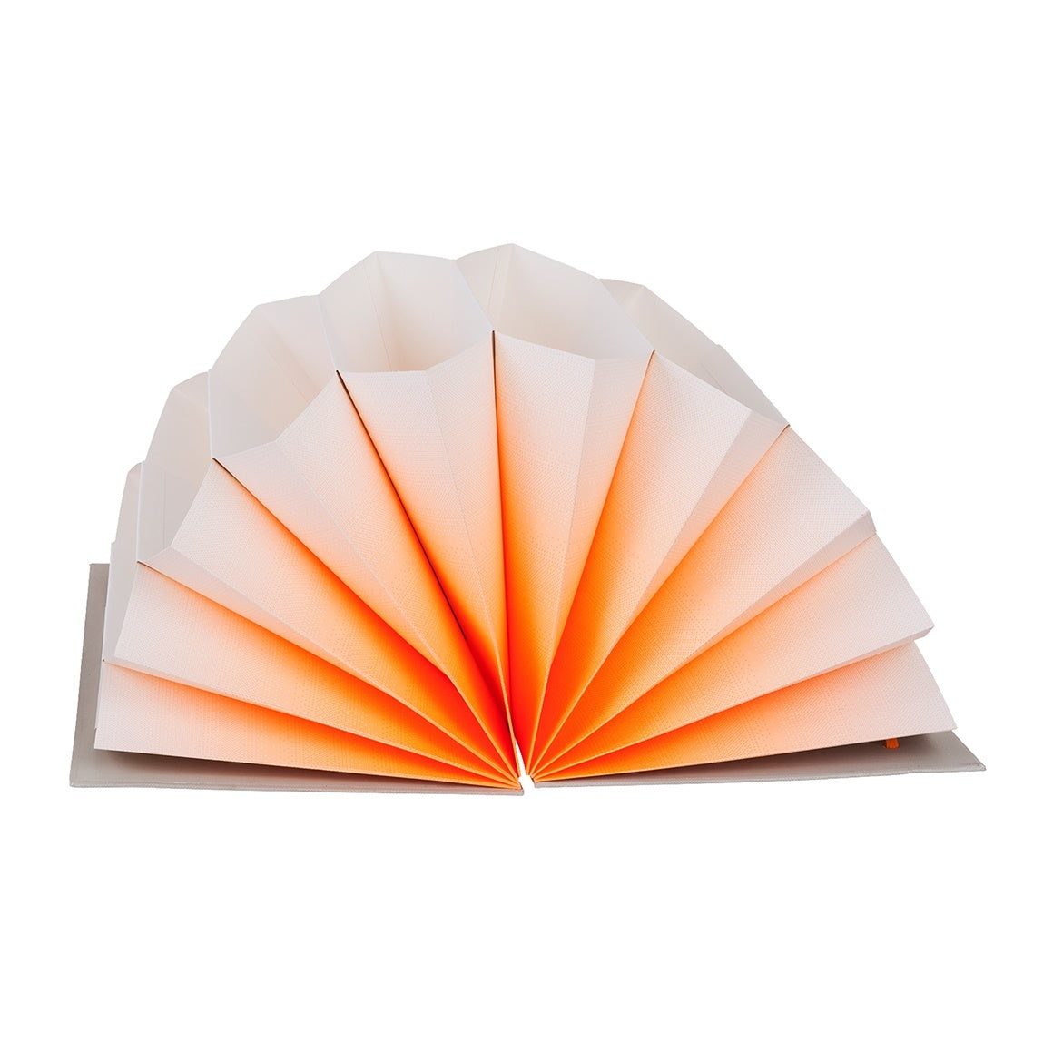 HAY Plisse FOLDER / A4 / orange fade - Eclectic Cool  - 1