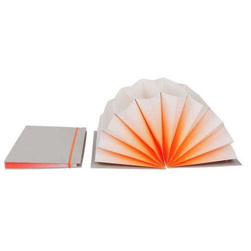 HAY Plisse FOLDER / A4 / orange fade - Eclectic Cool  - 2
