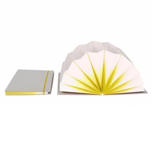 HAY Plisse FOLDER / A4 / yellow fade - Eclectic Cool  - 2