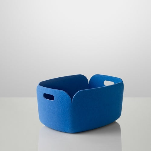 MUUTO RESTORE STORAGE BASKET BLUE - Eclectic Cool