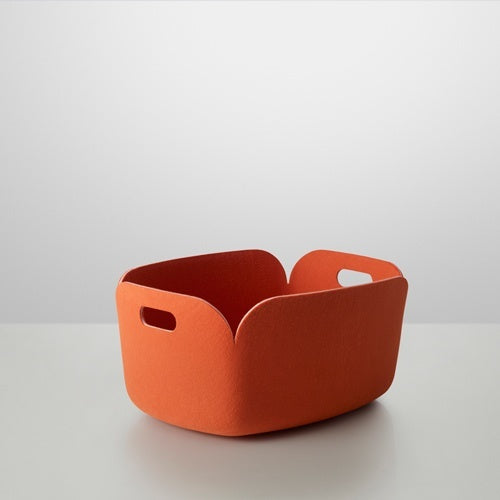 MUUTO RESTORE STORAGE BASKET ORANGE - Eclectic Cool