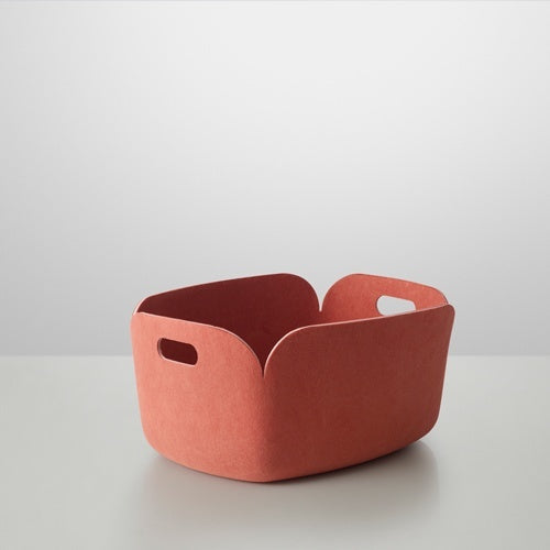 MUUTO RESTORE STORAGE BASKET ROSE - Eclectic Cool
