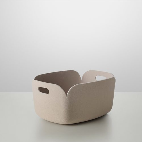 MUUTO RESTORE STORAGE BASKET SAND - Eclectic Cool