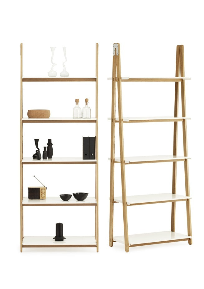 Normann Copenhagen One Step Up Bookcase High white - Eclectic Cool  - 4