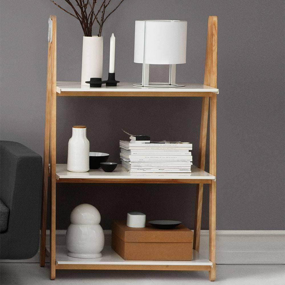 Normann Copenhagen One Step Up Bookcase Low white - Eclectic Cool  - 2