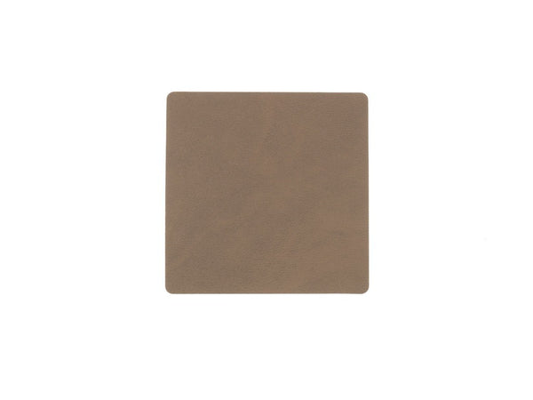LindDNA GLASSMAT SQUARE brown/Nupo - Eclectic Cool  - 1