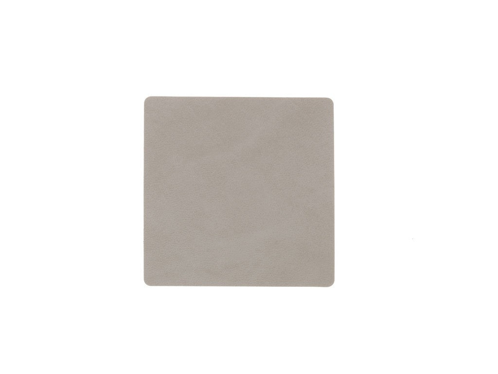 LindDNA GLASSMAT SQUARE  Light grey/Nupo - Eclectic Cool  - 3