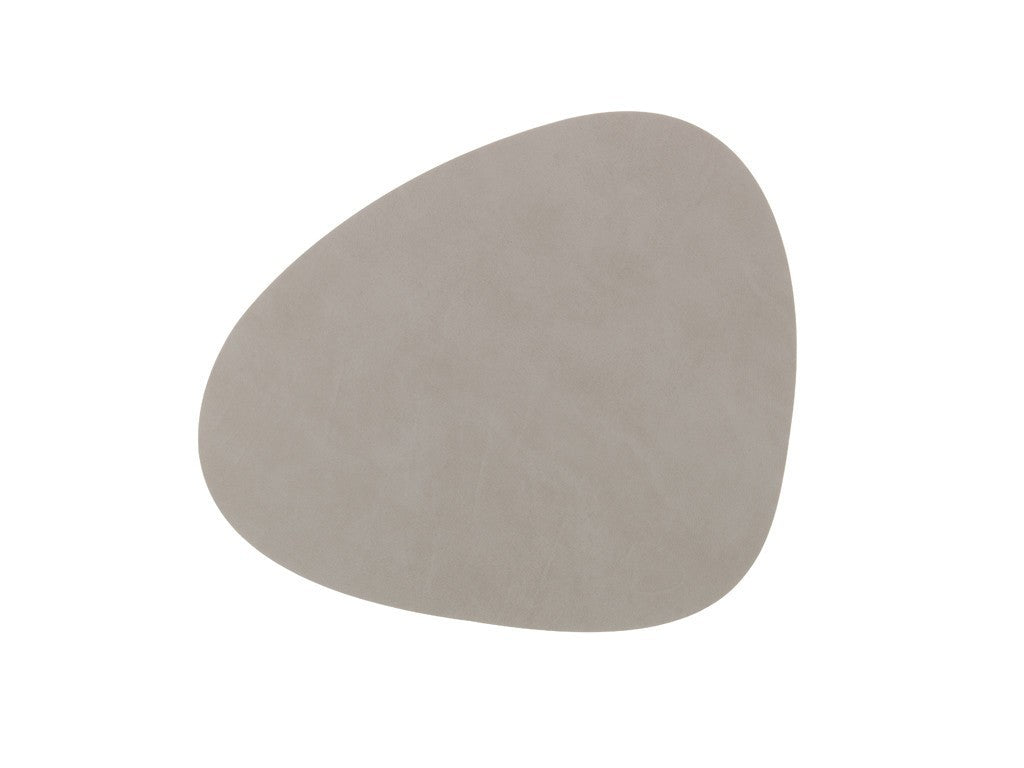 LindDNA TABLEMAT CURVE L light grey/Nupo - Eclectic Cool  - 1