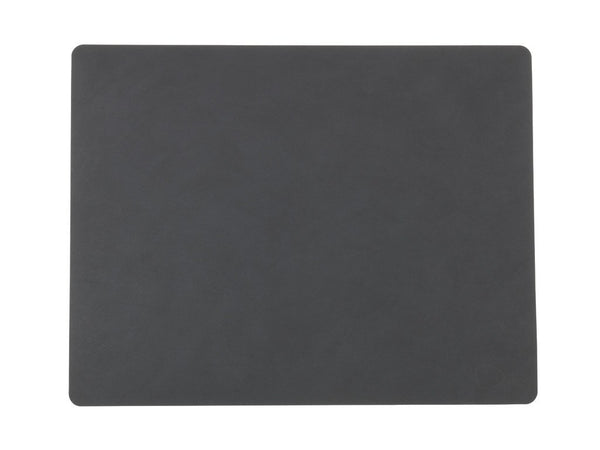 LindDNA TABLEMAT SQUARE L  antracit/Nupo - Eclectic Cool  - 1