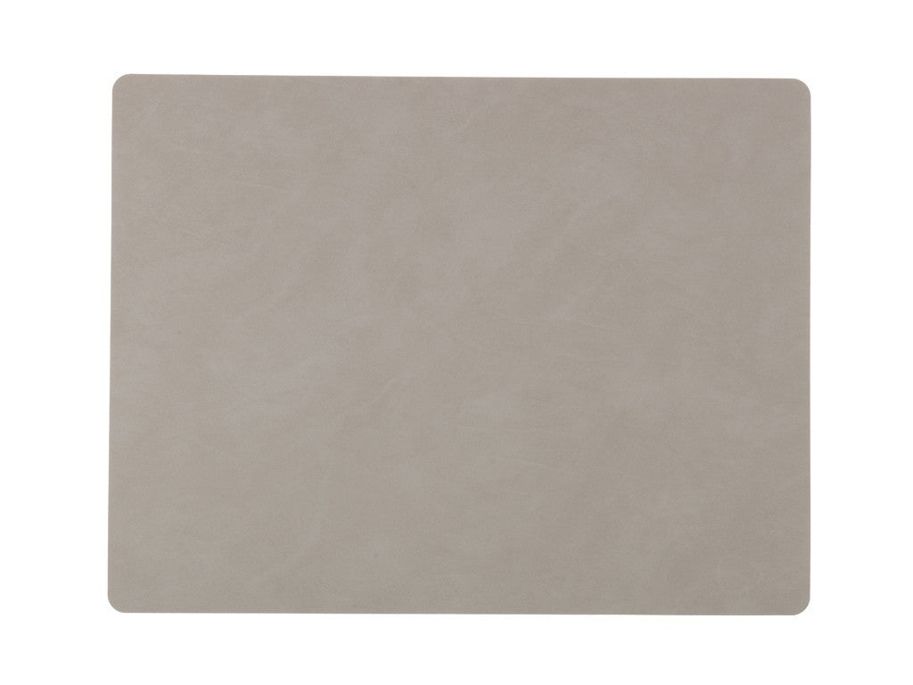 LindDNA TABLEMAT SQUARE L light grey/Nupo - Eclectic Cool  - 1
