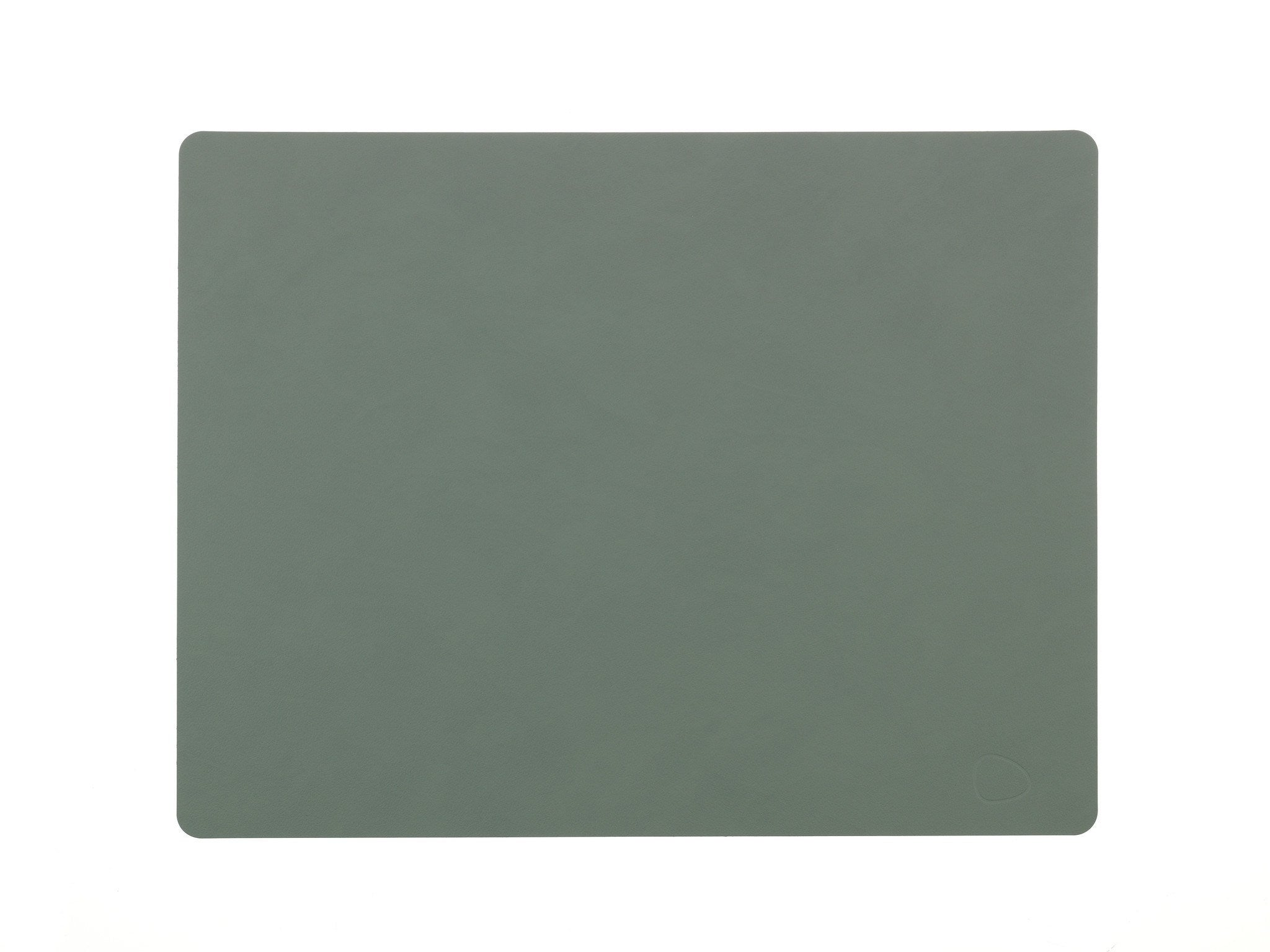 LindDNA TABLEMAT SQUARE L  pastel green/Nupo - Eclectic Cool  - 1