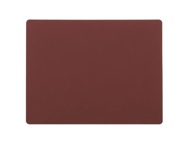 LindDNA TABLEMAT SQUARE L red/Nupo - Eclectic Cool  - 1