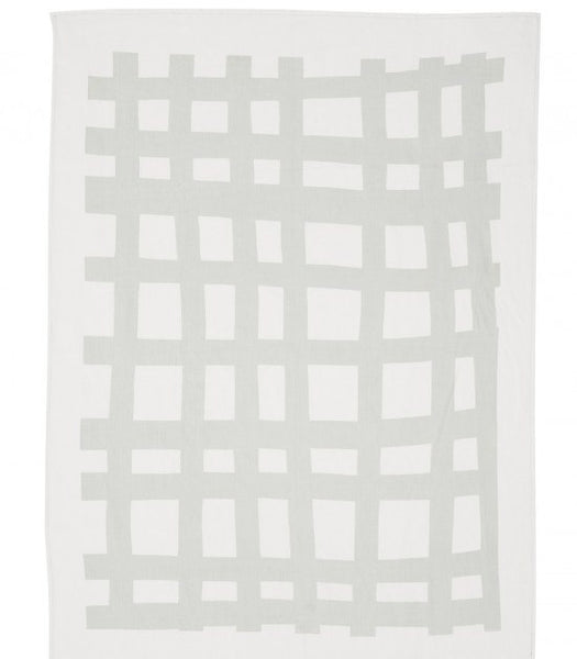 KATE AND KATE SEA TANGLE LINEN THROW - Eclectic Cool
