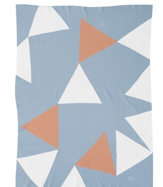 KATE & KATE TAMMY BLANKET - Eclectic Cool  - 1