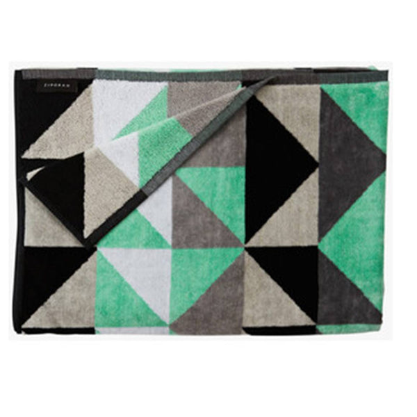 Ziporah - Dove Bath Sheet - Eclectic Cool  - 1