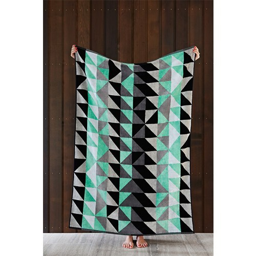 Ziporah - Dove Bath Sheet - Eclectic Cool  - 3