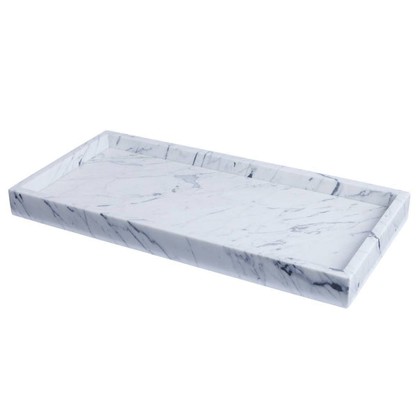 HAY Marble Tray- Large - Eclectic Cool  - 1