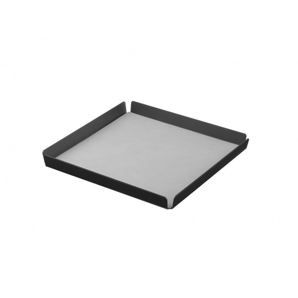 LindDNA TRAY SQUARE L antracit aluminium light grey/Nupo - Eclectic Cool  - 1