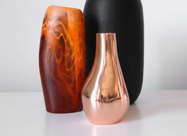 DINOSAUR DESIGNS COPPER LIQUID VASE- MD - Eclectic Cool