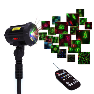 Motion Pattern 3 models in 1 Continuous 18 Patterns LEDMALL RGB Outdoor Laser Garden and Christmas Lights