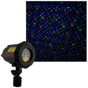New Design Moving Firefly LEDMALL RGB Outdoor Garden Laser Christmas Lights - LedMall