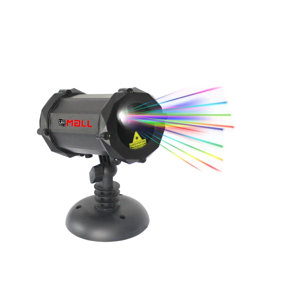 Bluetooth Motion Full Spectrum 7 Color With White Star Effects Laser Christmas And Decorative Lights With Remote Control