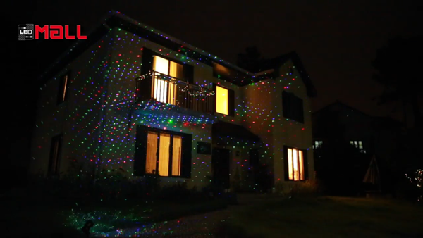 Moving Firefly Rgb Remote Controllable Laser Christmas