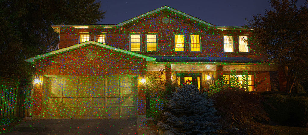 Remote Controllable Laser Christmas Garden And Landscape Lights  - Christmas Light Laser Projector