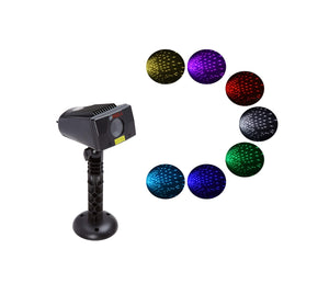 LEDMALL Full Spectrum Motion Star effect 7 color WHITE Laser Christmas and Decorative Lights - LedMall
