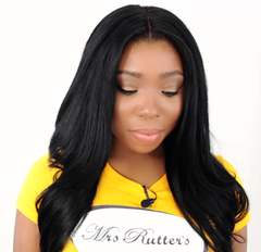Breanna Rutter wearing Mrs Rutter's Luxury Hair Extensions