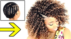 crochet braid hairstyle for beginners step by step hair tutorial