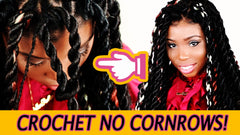 rope twist crochet no cornrow hairstyle senegales twist braids