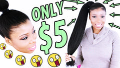 kanekalon ponytail with jumbo braiding hair nicki minaj beyonce flawless