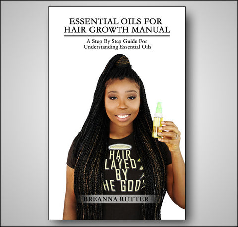 Essential Oils For Hair Growth Manual (PDF Download)