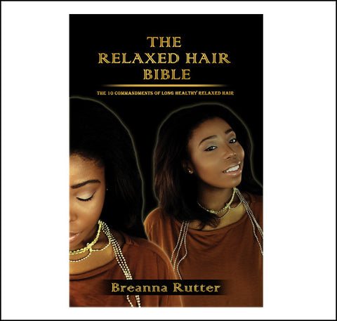 (Wholesale 5 Copies) The Relaxed Hair Bible Book