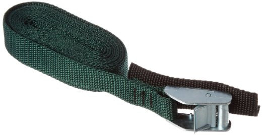Green strap with tension buckle