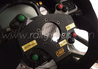 Steering wheel button kit, compact version