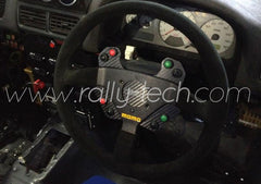 STEERING WHEEL BUTTON KIT- UNIVERSAL - CARBON FIBER - 8 BUTTON