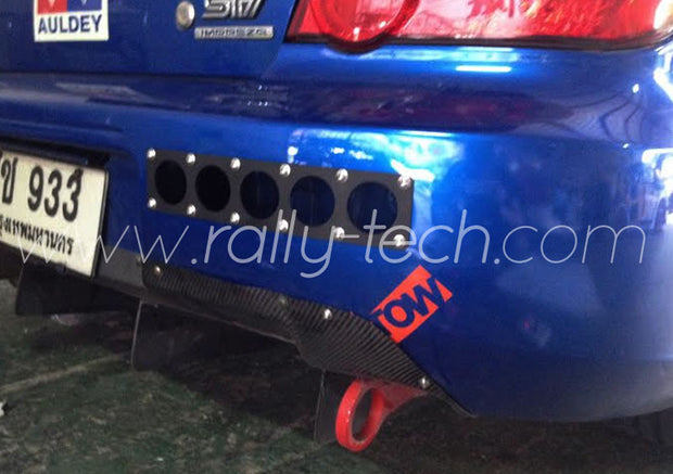 REAR BUMPER VENT PANEL - UNIVERSAL - VERSION 1 RECTANGULAR